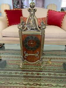 Antique French Mantle Clock By A D Mougin Deux Medailles Stunning Rare