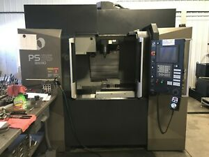 2015 Makino Ps95 Cnc Vmc 36 X 20 14000rpm Ct40 30 Tool Tsc 1385hrs