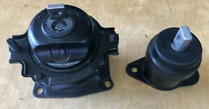 2pc Motor Mount Front Electric For 2005 2007 Honda Accord Hybrid V6 Fast Ship