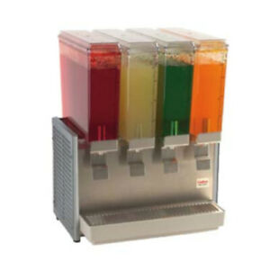 Grindmaster cecilware E49 3 Crathco Bubber Mini Pre mix Cold Beverage Dispenser