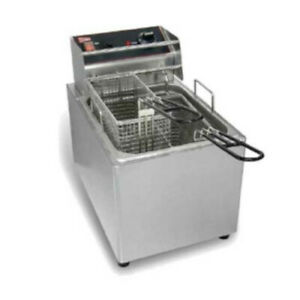 Grindmaster cecilware El25 Electric Countertop Fryer With 15 Lb Capacity