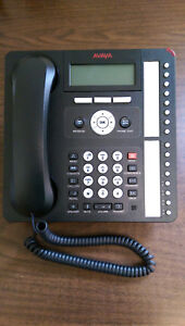 New Avaya 1616 i Ip Global Business Desk Phones 700510908 Black Unused