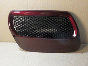 New Oem Right Ford Mustang Gt 18 19 Hood Heat Extractor Vent Burgundy br