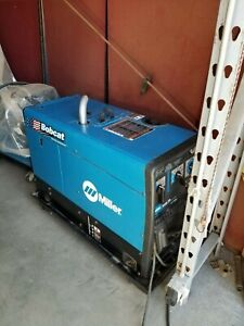 Bobcat Welder With Gas Engine Used Twice