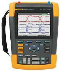 Fluke Fluke 190 202 Portable Scopemeter 200 Mhz 2 Channel