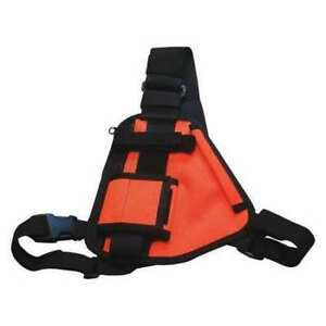 Holster Guy Rch 101or Radio Harness orange Chest Harness