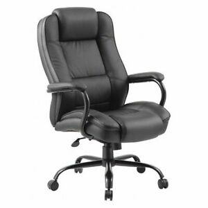 Zoro Select 452r31 Executive Chair heavy Duty leather Seat