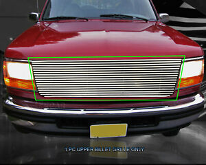 6 Mm Billet Phat Grille Front Grill Its 1992 1996 Ford Bronco F150 F250 F35