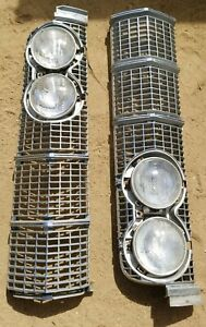 1964 Lincoln Continental Front Grilles