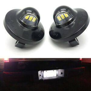 For Ford F150 Ranger Raptor Explorer Full Led License Plate Light Kit 3 Smd