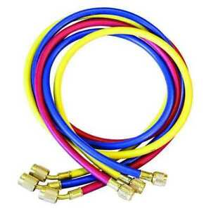 Jb Industries Ccls 72 Manifold Hose Set 60 In red yellow blue