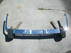 Complete Triumph Spitfire Chrome Rear Bumper With Mounting Brakets