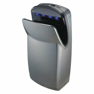 World Dryer V 649a Hand Dryer abs Plastic Cover silver