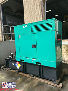 New 25kw Cummins Stationary Diesel Generator Dskca 120 240v S n K140767429