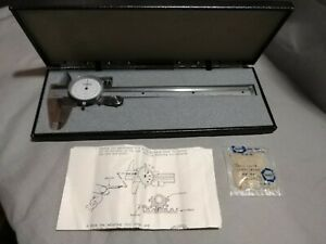 Sears Craftsman 6 Dial Caliper Machinist Tools With Hard Case