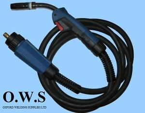 Mb25 3m 3meter Binzel Type Mb25 Euro Mig Welding Torch Lance For Gas Gasless