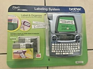Brand New Brother P touch Pt 1880c Label Printer Labeling System
