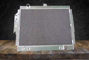 2 Rows Aluminum Radiator Dodge D150 D150 Ramcharger W150 D150 W150 79 93