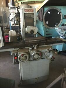 Brown Sharpe Micromaster 618 Surface Grinder 6 x18 Coarse Pole Mag Chuck