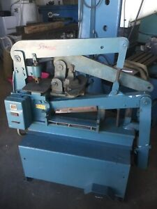 35 Ton Scotchman Model 314 Hydraulic Ironworker