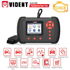 Vident Ilink400 Full System Single Make Scan Tool Support Abs srs epb dpf