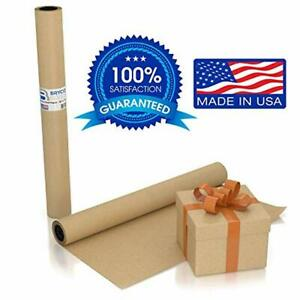 Large Brown Kraft Paper Roll 36 X 1200 100 Ft Made In The Usa Ideal Fo