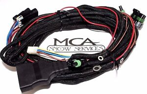 Western Fisher Snow Plow 3 Pin Main Control Truck Side Harness Ultramount 26345