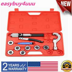 New 7 Lever Hydraulic Tube Expander Tubing Expanding Swaging Kit Hvac Tool Set
