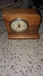 Antique Wooden Clock By Windsor