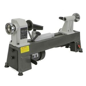 Speed Bench Top Woodworking Lathe 10 In 1 2 Hp Robust Cast iron 1725 Rpm Motor