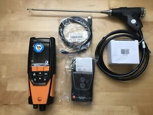Testo 320 Lx Combustion Analyzer Kit With Bluetooth And Printer 0554 0549