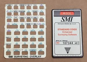 Smi 48 Sce Surveying Card For Hp 48gx Calculator