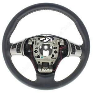 New Gm Oem Damaged Ebony Leather Steering Wheel 09 10 Cobalt Hhr 06 07 Solstice