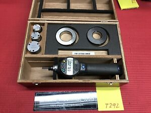 Mitutoyo Digital Borematic Inside Micrometer 1 0 To 2 0 Inch W 2 Rings T292