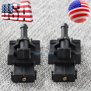 For 2011 2018 Toyota Sienna Camry Corolla Windshield Washer Nozzle W Brass Tip