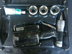 Wirsbo Pneumatic Expander Tool With 3 Expansion Heads Case