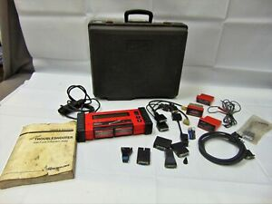 Snap on Mt2500 Scanner Kit Case Cartridges Cables Adapters Manual Keys