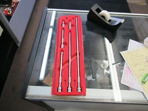 Mac Tools 6 Piece 1 4 Drive Extension Set No Reserve