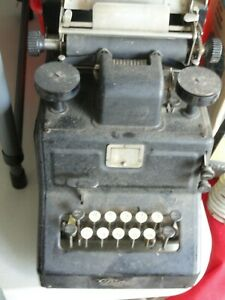 Antique Early 1900 S Dalton Adding Machine Good Condition