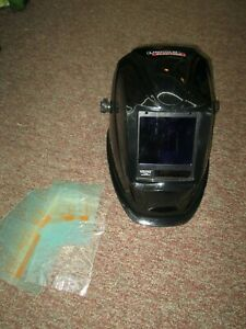 Lincoln Electric Viking 4c 3350 Welding Helmet W Extra Lenses free Shipping