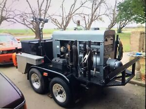 Lincoln Sa 200 Rig On Trailer blackface 3 Tool Boxes Generator Fuel Tank