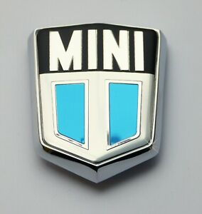 Classic Mini Cooper Cooper S Bonnet Shield Badge Bmc Austin Czh1305