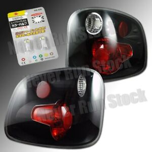 Ford F150 Flareside Clear Black Altezza Tail Light white License Plate Bulbs