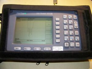 Anritsu S113b Site Master 5 1200mhz New Battery charger Used S case Fully Tested