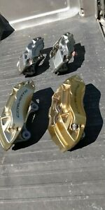 Corvette C7 Compete Calipers And Pads Used 14 19 Used Jl9 Brembo