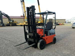 Toyota Fg10 Forklift Capacity 2000 Lbs Max Lift 118