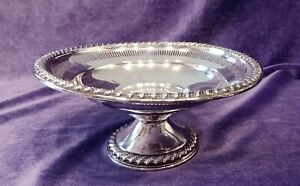 Vintage Rogers 6 5 Pedestal Bowl With A Weighted Base