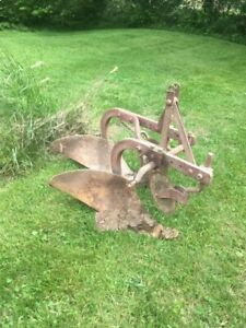 Ferguson 2 Bottom Plow Three Point Used In Good Condition