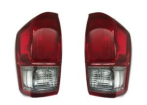 Quality Replacement Pair Tail Light Lamps For 2016 2017 Toyota Tacoma Trd