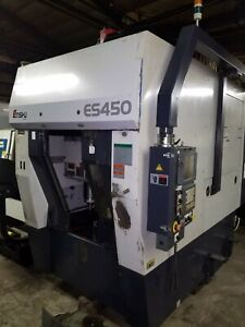 Enshu Es450 Vertical Cnc Mill With Nikken 4th Axis Tsc Tool Setter